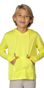 soft sun protective hoodie for kids very thin and breathable