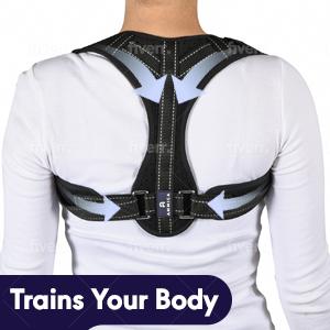 Ergonomic design back stretcher posture corrector back brace for women back brace posture corrector