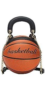 Basketball Shaped Purse