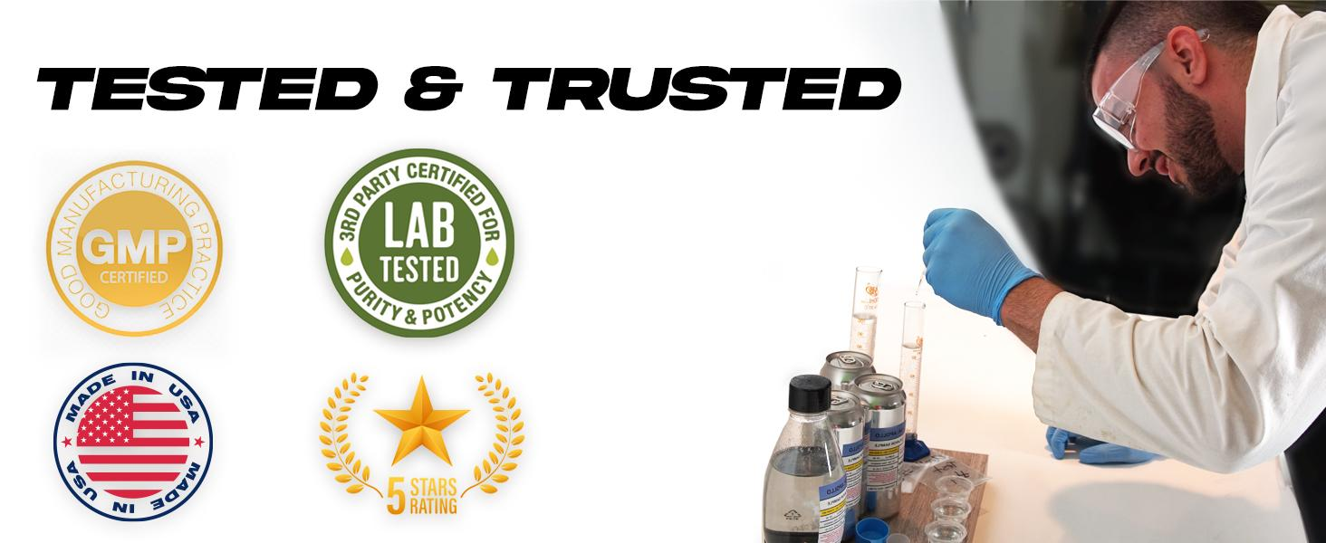 Tested and Trusted