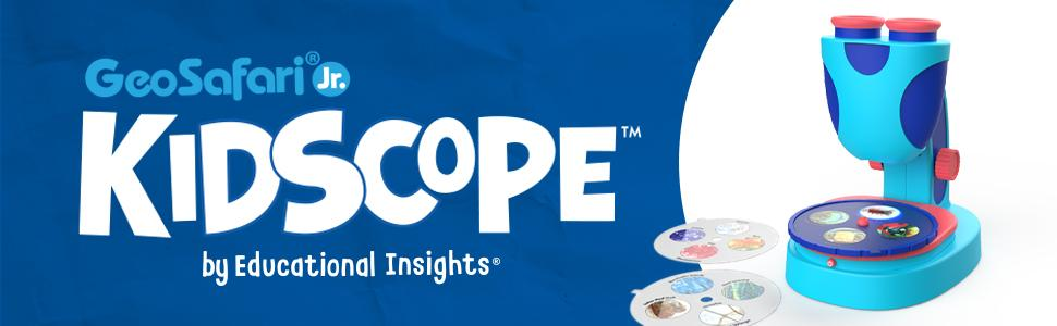 GeoSafari Jr Kidscope - The Ad by Educational Insights