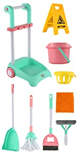 New Cleaning cart set