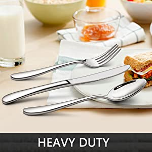 Heavy Duty Silverware Set