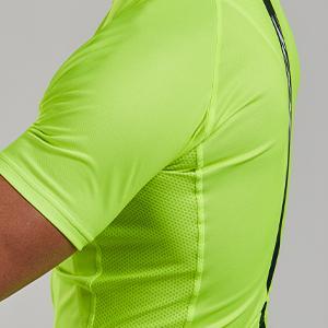Men's moisture wicking cycling jersey