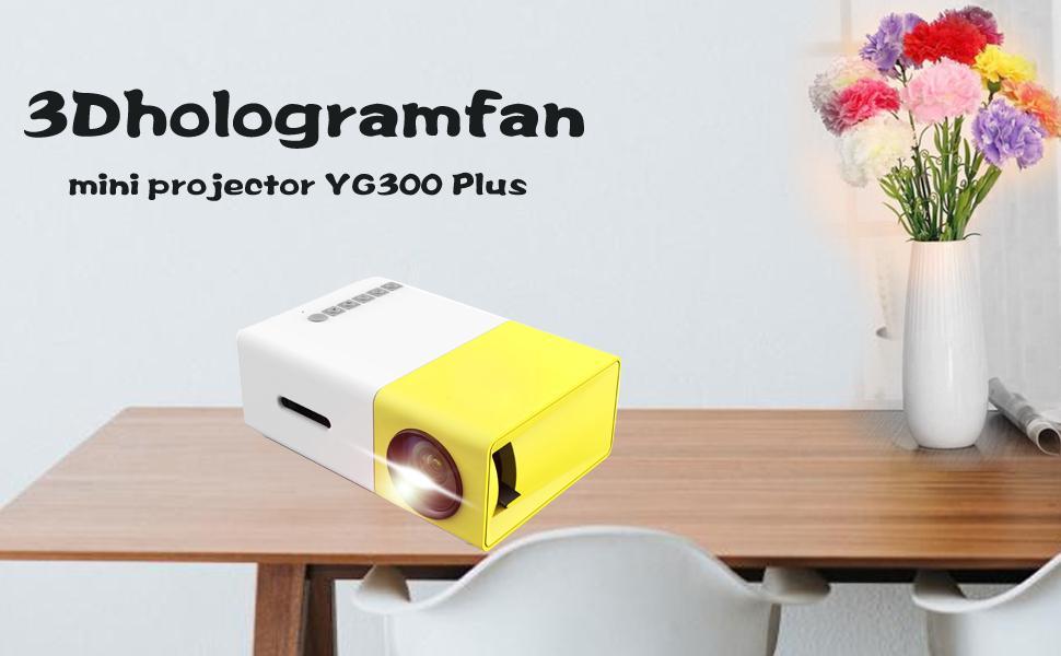YG300 mini projector plus