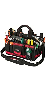 16-Inch Collapsible Tote Tool Bag
