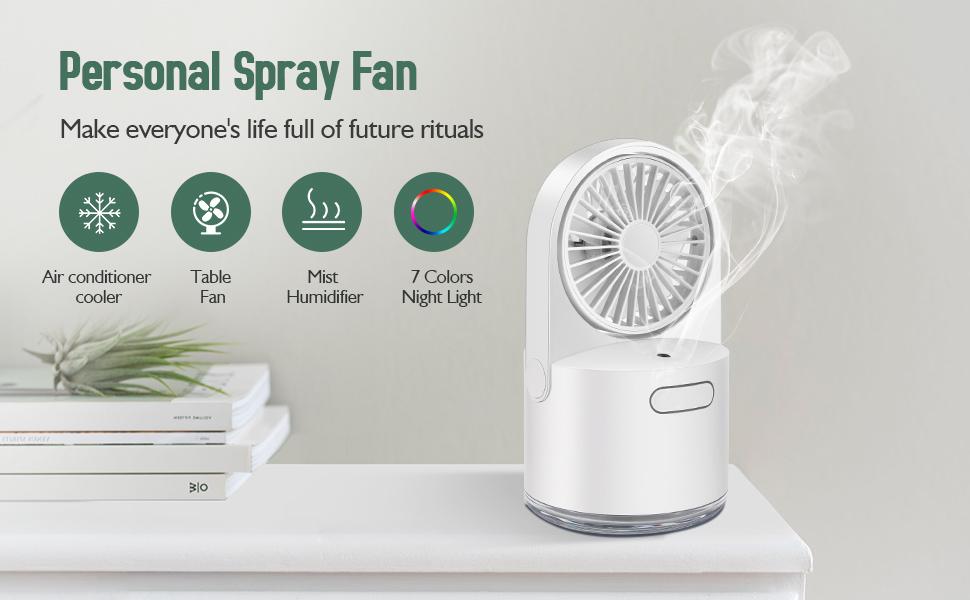Personal Spray Fan