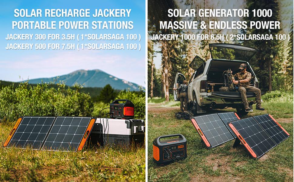 solar generator solar panels