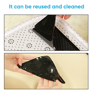 It can be reused and clean