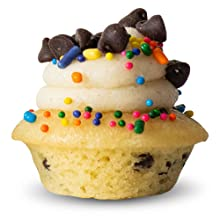 Deconstructed Cookie Dough mini cupcake from baked by melissa