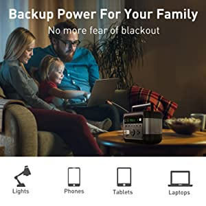 Backup Power for Your Family