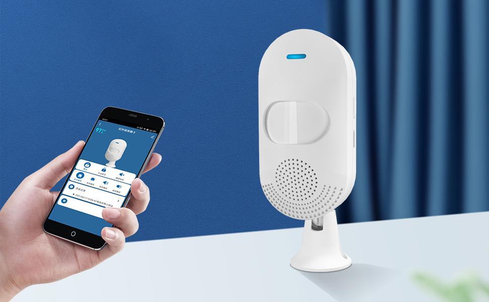 wifi motion sensor alarm