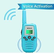 walkie talkies with VOX