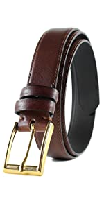 handmade leather belt black dress casual hoffebelts
