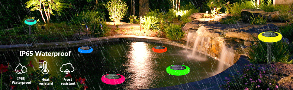 IP65 waterproof