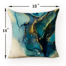 teal blue pillow covers 18 18