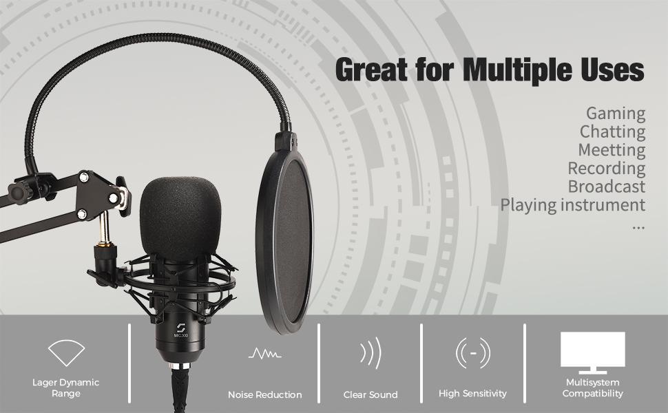 gaming microphone for desktop