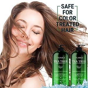 Tea Tree shampoo and conditioner set