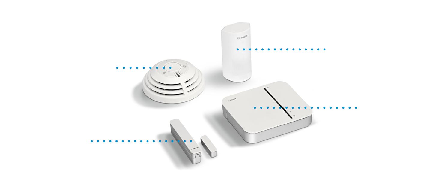 Bosch Smart Home Veiligheidsstarterset technical details