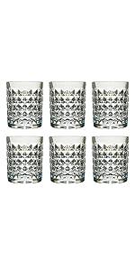8 Oz Plastic Whisky Glasses