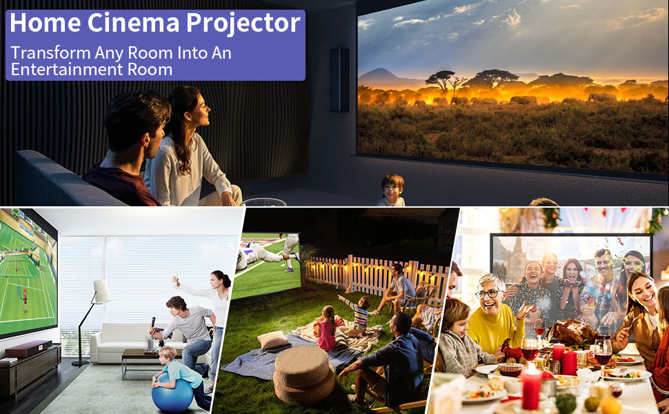 projector for movies photos games sports