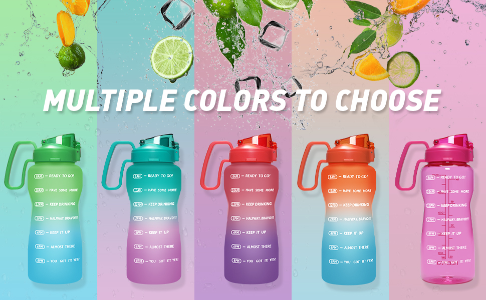Multiple colors to choose
