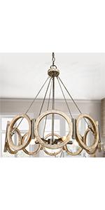 farmhouse chandelier light fixture