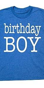 Happy Family Clothing Birthday Boy Type Party T-Shirt