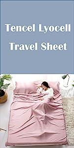 tencel lyocell travel sheet
