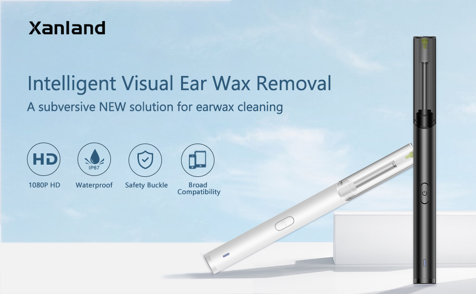 intellectual visual ear wax removal
