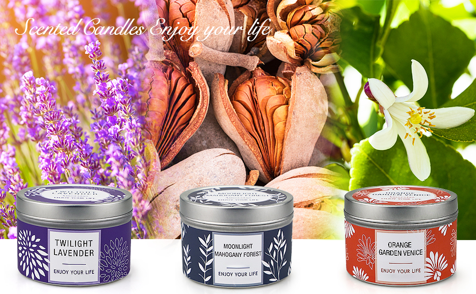 scented candle sets for women gift