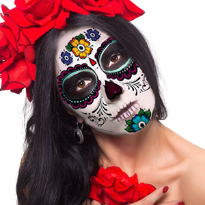 Day of the Dead Sugar Skull Stickers