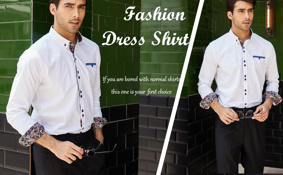 coofandy men dress shirt