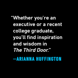 """Arianna Huffington says, """"Whether you're an executive or a recent college graduate, you'll find..."""""""