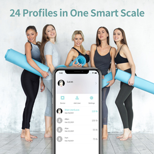 one smart scale for whole family