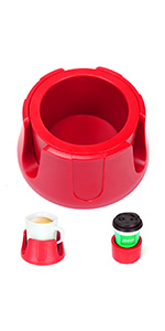 Anti-Spill Cup Holder RED