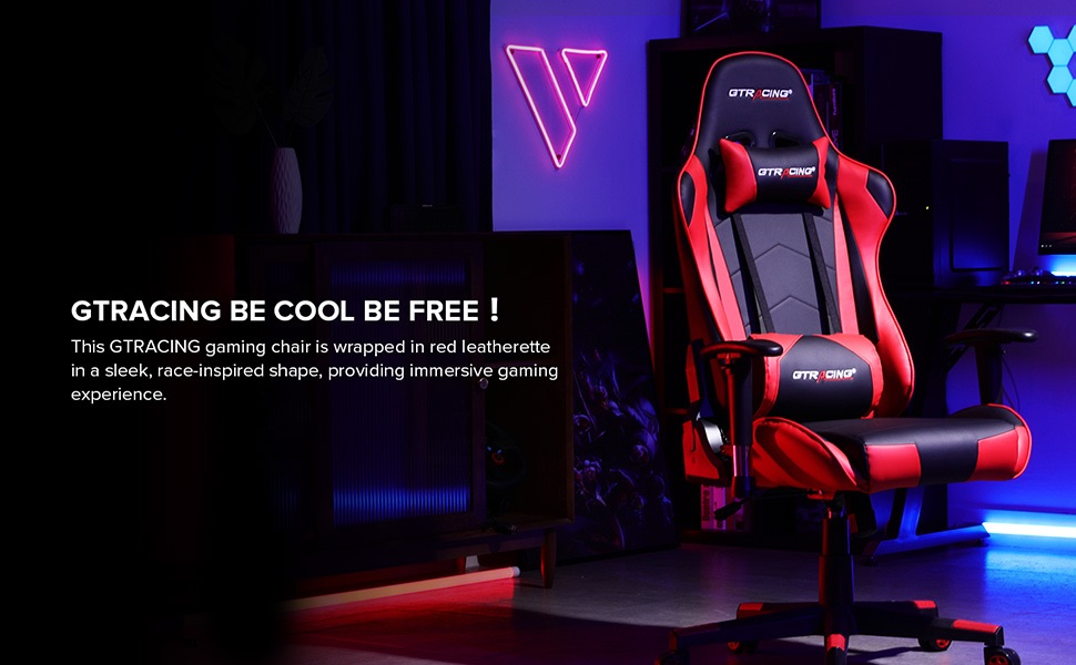 gtracing  be cool be free gaming chair