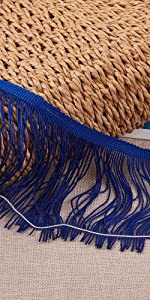 Fringe Trim Lace Polyester Tassel Fringe Trimming for Clothes Stage Costume Accessories