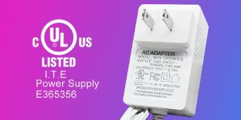 UL Listed power supply