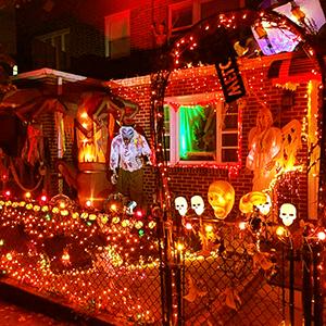 100 count halloween lights