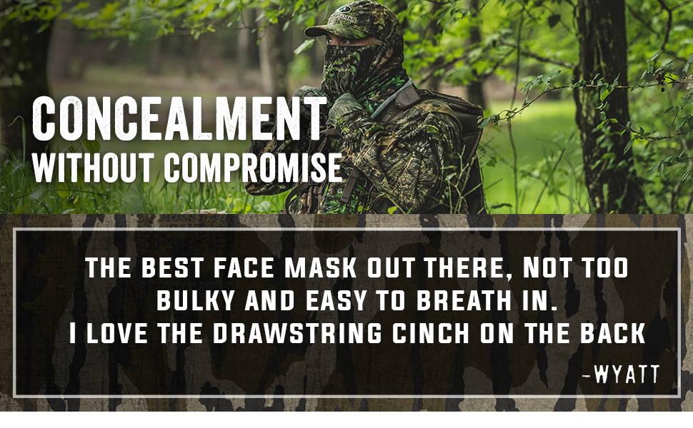 Concealment without compromise
