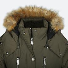 Hooded Puffy Coat