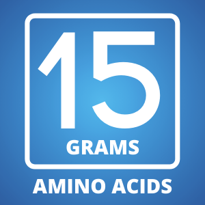 15 Grams of Amino Acids per delicious serving