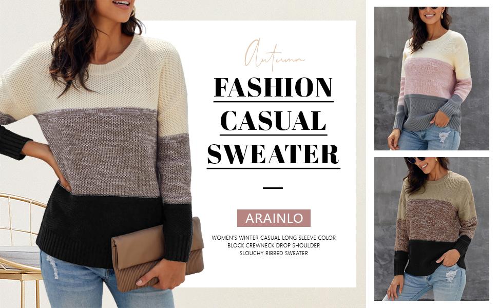 Fashion Pullover Sweater