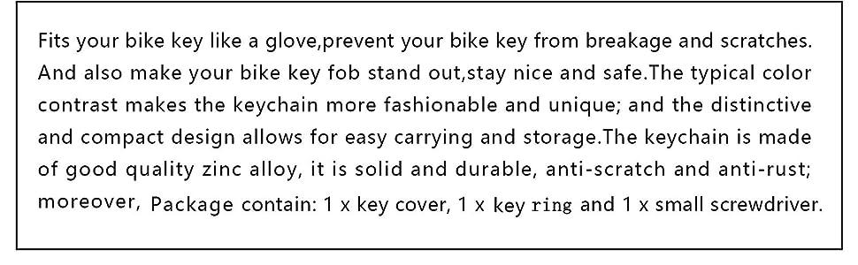 KTM key shell key fob