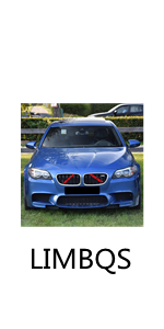 Grill Stripes Accessories for BMW 5 Series 2010-2017