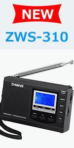 ZHIWHIS ZWS-310 Digital Shortwave Radio