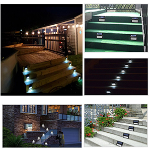 outdoor solar powered wall lights