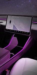 Tesla Model 3 Neon Light Tubes