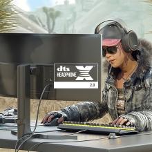 DTS Headphone:X v2 サラウンド